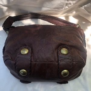 Cynthia Rowley brown leather purse